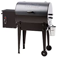 Traeger Grills Tailgater 20 Portable Wood Pellet Grill and Smoker - Grill, Smoke, Bake, Roast, Braise, and BBQ (Bronze)