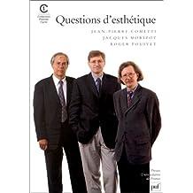 Questions d'esthétique