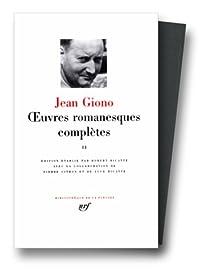 La Pléiade : Oeuvres romanesques complètes 02 par Giono