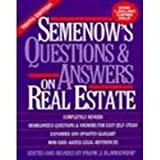 img - for Semenow's Questions and Answers on Real Estate book / textbook / text book