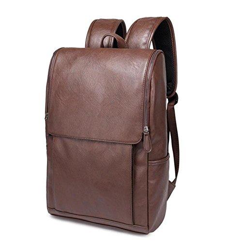 TT Bolso de hombro de la PU hombres bolsa de viaje casual bolso de hombro de la moda , black Brown