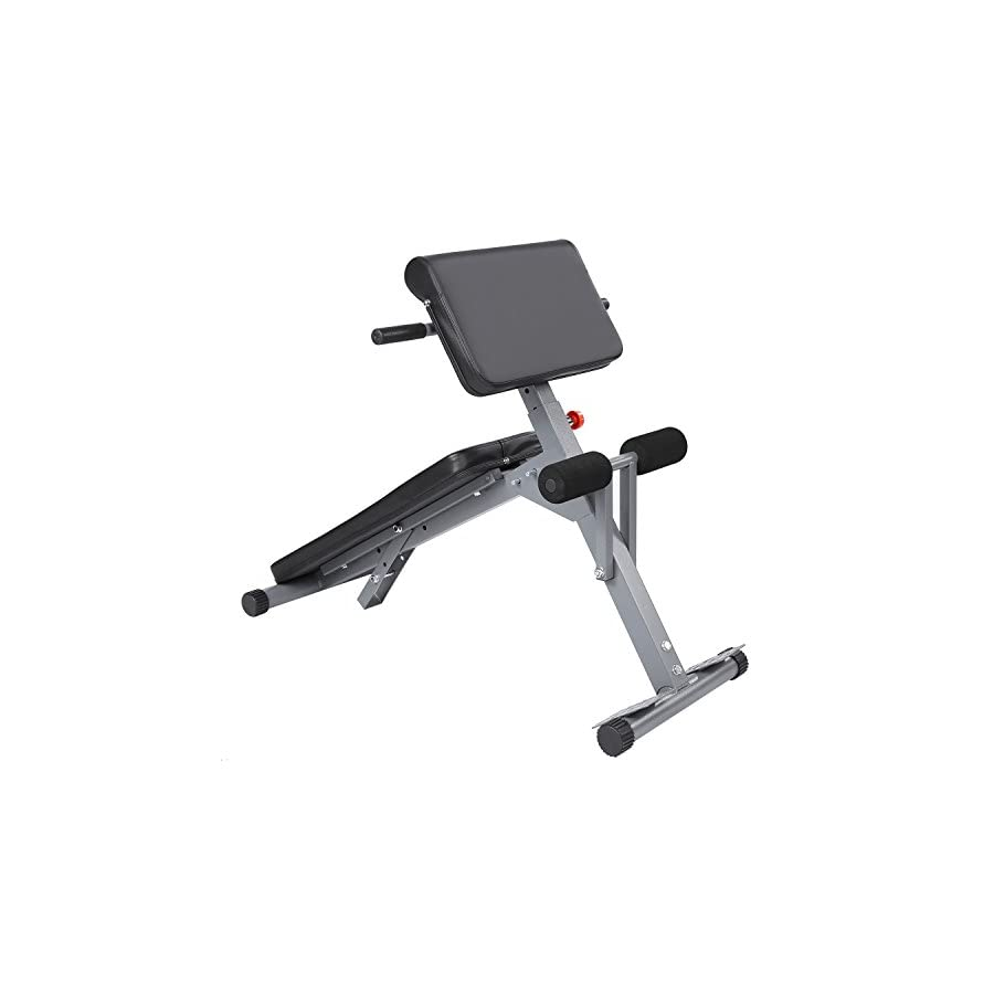 Asatr Health Fitness Stamina Pro Ab Core Strength and Hyper Bench(US Stock)