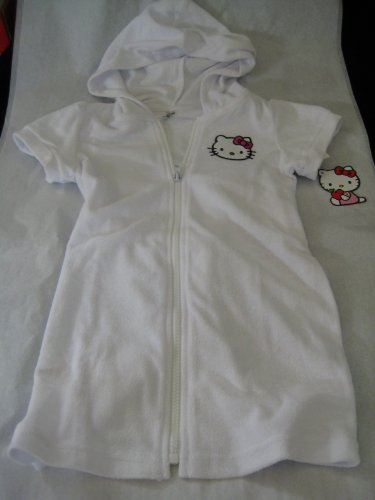Hello Kitty Infants Girl Jacket; Color White; Size 4 and 5/6 New