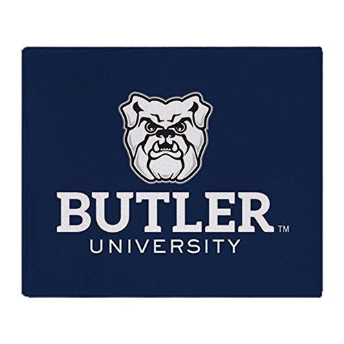 (CafePress Butler University Bulldog Soft Fleece Throw Blanket, 50