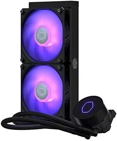 New Fans & Cooling - Cooler Master ML240L V2 RGB CPU Water Liquid Cooling 120mm SickleFlow RGB fan CPU Cooler Computer radiator For i9 2066/115x/AM4