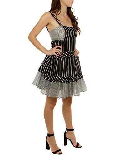 Black Donna White Set Vestito Twin pw6xqBCRq