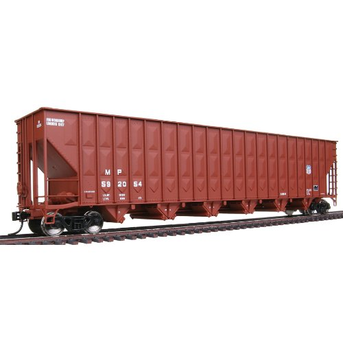 Ho Union Pacific Hopper - Walthers HO Scale Greenville 7000 Cubic Foot Wood Chip Hopper - Ready To Run - Union Pacific(R) #592054 (MP(TM) Reporting Marks, Small UP Logo, Boxcar Red)