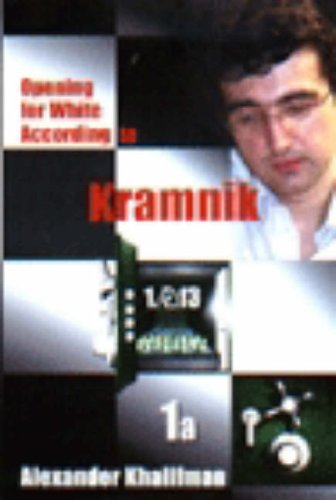 Download Opening for White According to Kramnik 1.nf3 (Repertoire Books) ebook