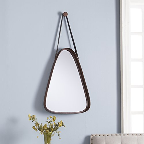 (SEI Jordan Tri-Oval Mirror, Brown)