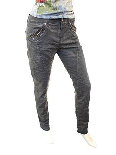 Anthra Trust Jeans Oil Amor amp; Boyfriend Grau Wash Truth Att Femme 58I01qw0g