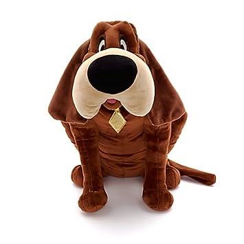 Disney Store Fido Tramp Señora perro de peluche 42x40cm Lilly Bloodhound