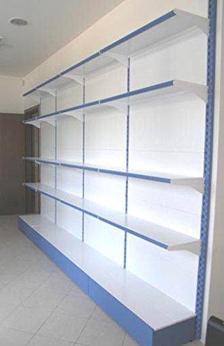 Metallregal Regale Wand 75x60x200 Cm Modular Für Shop Büromöbel