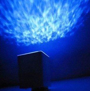 niceeshop (TM) azul/verde luz LED Relaxing Ocean - Proyector ...