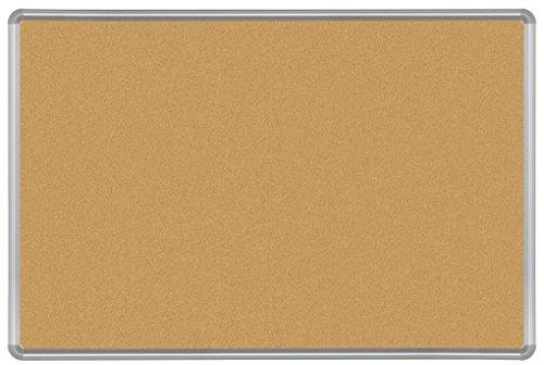 Best-Rite VT Logic Takboard Presidential Trim, Silver, 4 x 8 Feet (E301PH) by Balt