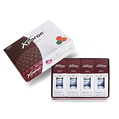 Xperon GAON III Dual Balanced and Aligned Surlyn 3 Piece White Golf Ball - 1 Dozen