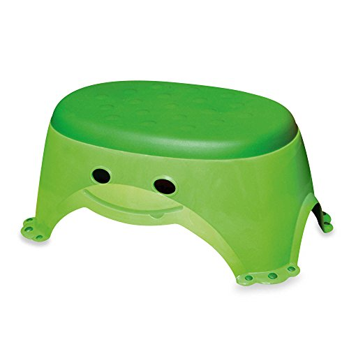 Mommy's Helper Step Up Non-Slip Stepstool Froggie Collection, Green by Mommy's Helper