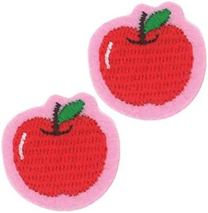 ミノダ アイコンワッペン りんご 2枚セット P50I9733