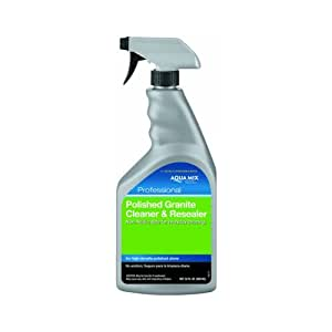 Stone Specific Polished Granite Cleaner, Resealer Spray Bottle, 32-Ounce
