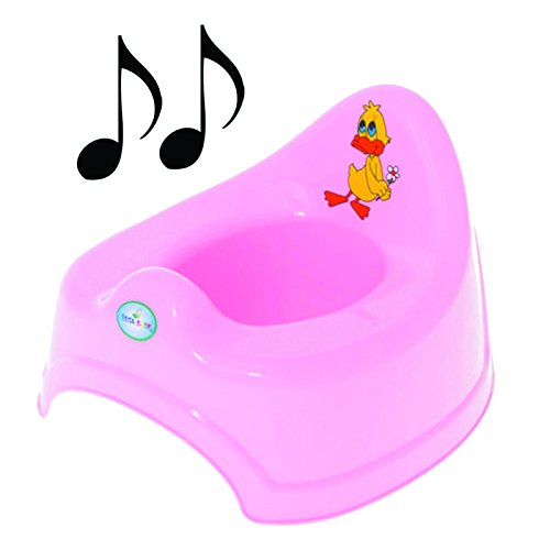 Potty Training - Musical Potty For Toddlers Easy To Clean (Pink)