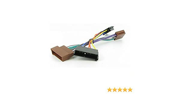 stereo wire harness for 1997 explorer amazon com wiring harness adapter for ford cars till 2004 iso  wiring harness adapter for ford cars
