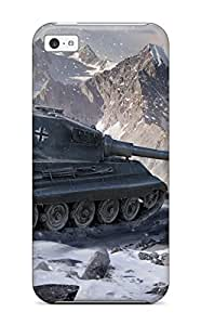 Hot Design Premium NqdSFPN5525YNvyh Tpu Case Cover Iphone 4/4s Protection Case(world Of Tanks King Tiger)