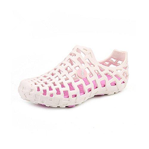 Ocasional los Hombres Transpirable Zuecos de Malla Zapatos Mula Sandalias de Sandalias 5 Playa los Antideslizantes Sandalia 24 la la Verano de Ligera de Blanco Hombres Impermeables 27cm y del de xZZXzq