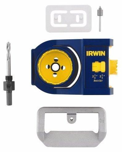 Bi Metal Door Lock Installation (American Tool 17104 Bi-Metal Door Lock Installation Kit by Irwin Tools)