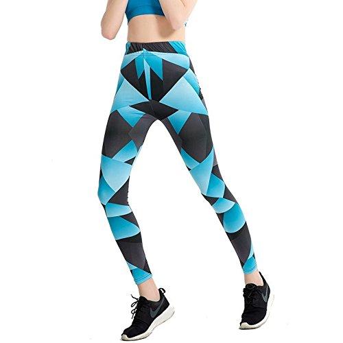 JIALELE Pantalon De Yoga Pantalon Léger Était Mince Pantalon Crayon Pantalon Élastique Mesdames Grand Yoga Leggings 102