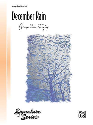 December Rain: Sheet (Signature Series)