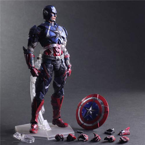 27cm Capitán América Avengers Figuras De Acción Juguetes ...