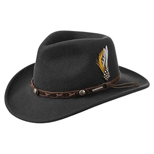 Chapeaux Outdoor Vitafelt Chapeau Hiver Vail Noir D´exterieur Stetson tqwXCEfC