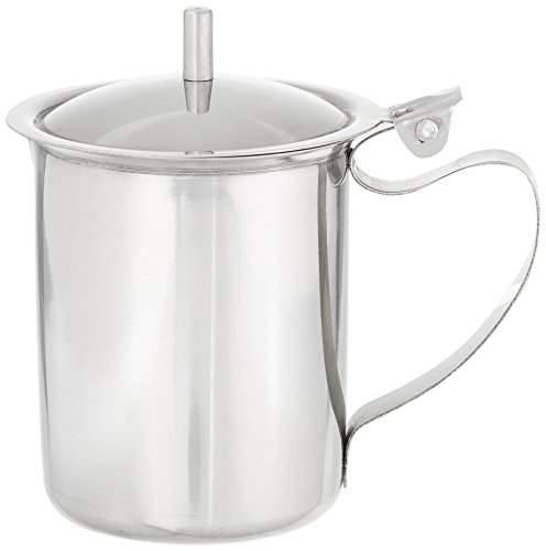 Winco SCT-10 Stainless Steel Creamer with Cover, 10-Ounce by Winco (Image #2)