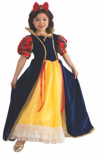 Snow White Wig Child (Rubie's Enchanted Princess Child's Costume,)