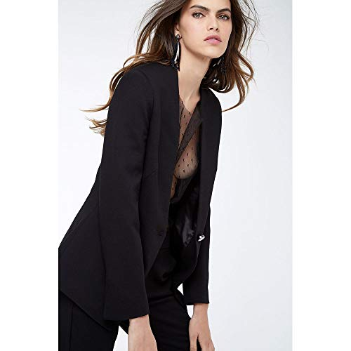 Blazer Long Fit Preto - 38