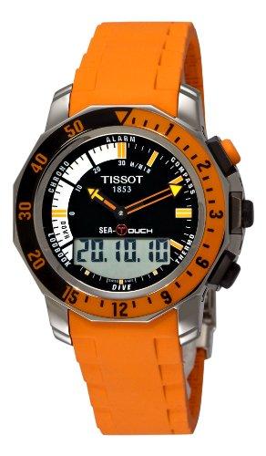 [ティソ]TISSOT Sea-Touch THE LAST MESSGE 海猿 三浦 翔平 着用モデル T0264201728102 メンズ
