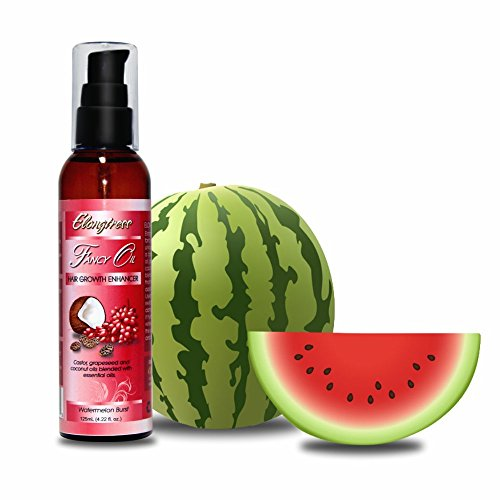 Elongtress Fancy Oil 4 Fragrances - Natural Hair Growth Oil For Fast Hair Growth, Hair Loss And Dry Damaged Hair, Use On Scalp Or Hair For Benefits (Watermelon Burst) (Best Oil Mixture For Hair Growth And Thickness)