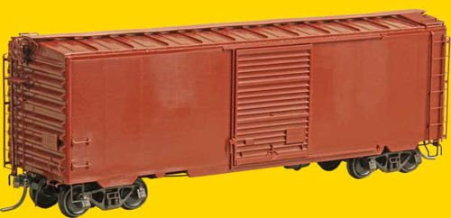 PS-1 Boxcar w/8' Door - Kit -- Undecorated ()