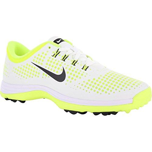 Nike Women's Lunar Empress Golf Shoes (Medium) (9 M, White/Black/Volt)