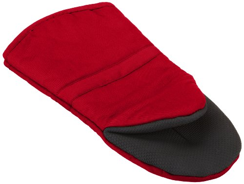 (RITZ Royale Cotton Puppet Oven Mitt with Neoprene Non-Slip Grip, 500° Heat Threshold, 13