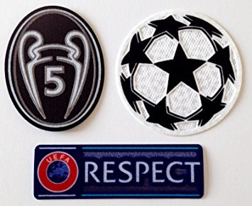 ProPrint Liverpool Champions League Badges/Patches Set