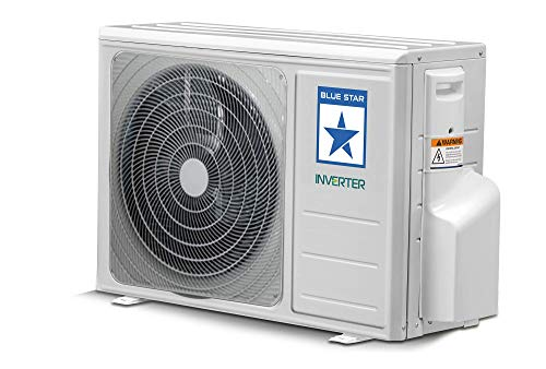 Blue Star 1 Ton 3 Star Inverter Split AC (IC312RBTU, White) 2021 August Split AC; 1 ton capacity Energy Rating: 3 Star Warranty: 1 year on product, 1 year on condenser, 10 years on compressor
