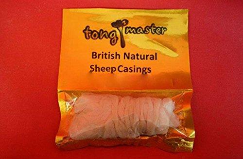 Natural Sheep Sausage Casings Skins 22/24mm - Make Chipolata Sausages