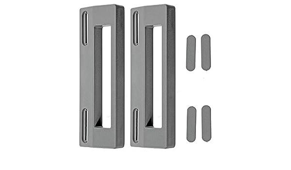 Spares2go tirador de puerta para Panasonic nevera congelador (Pack ...