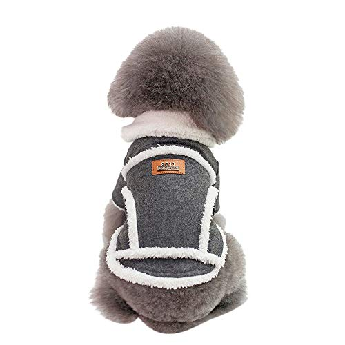 Dog Winter Coat Laimeng_World Cat Dog Coat Jacket Pet Supplies Clothes Winter Apparel Puppy Warm Costume