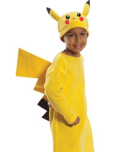 Rubie's Pokemon Child's Deluxe Pikachu Costume - One Color - Medium ()