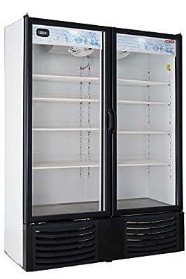 Tor-Rey 28CF Beer Soda Beverage Glass Door Refrigerator Cooler Merchandiser VRD28