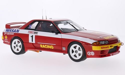 Nissan Skyline GT-R (R32), RHD, No.1, Bathurst, 1992, Modellauto, Fertigmodell, AUTOart 1:18