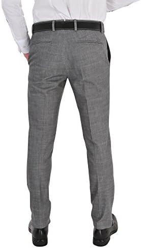 Incotex Pantalon Homme 50 Gris Cotton Slim Fit Slim Cut