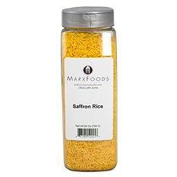Marx Foods, Saffron Rice, 28 oz.