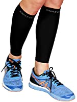 Calf Compression Sleeve - Leg Compression Socks for Shin Splint, & Calf Pain Relief - Men, Women, and Runners - Calf Guard for Running, Cycling, Maternity, Travel, Nurses